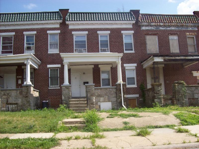 CLC helps neighborhoods fight the blighting influence of vacant houses.
