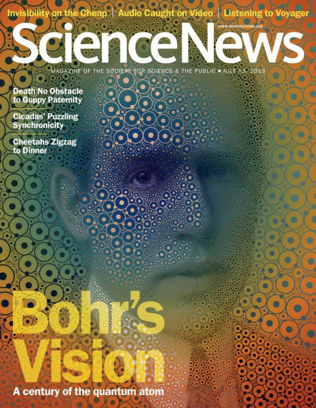 Award-winning Science News cover