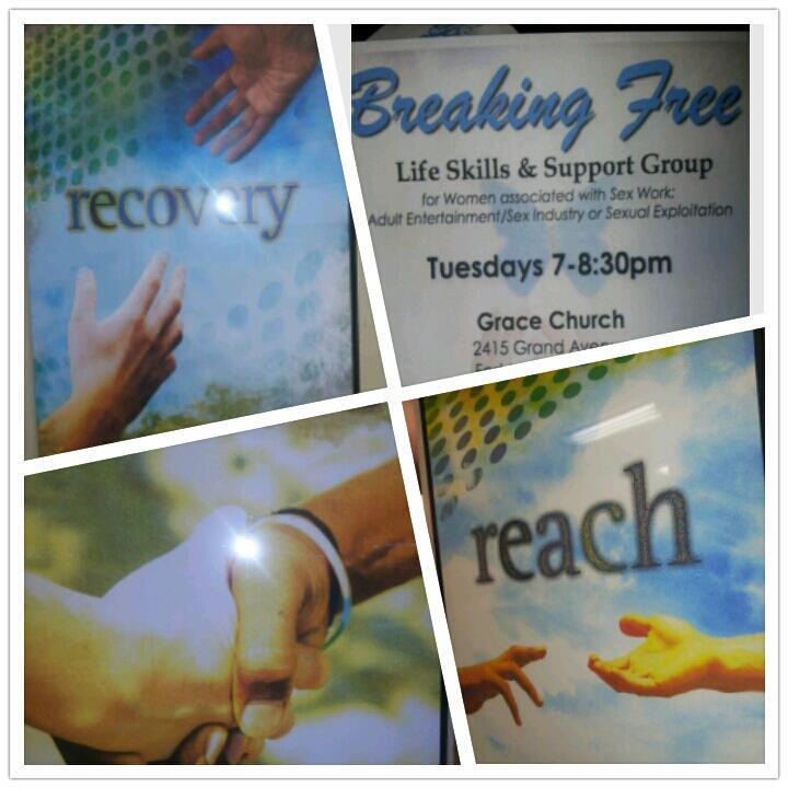 Every week we provide a Life Skills/Support group for women.