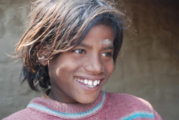 a brick kiln resident, Mewat, India