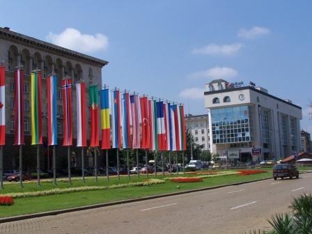 street scene - Sofia, Bulgaria