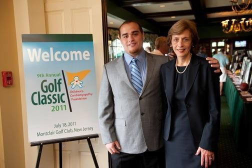 Matt & Lucille Protas at CCF Golf Event