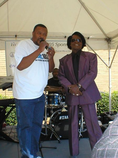 The King of Soul - the late James Brown (prostate cancer survivor) giving speech at CHAMPS!