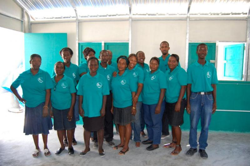 Community Health Workers employed by the clinic supported by HMH