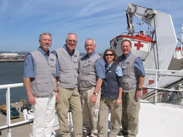 EDGE Team on USNS Comfort - 2011 Continuing Promise Mission