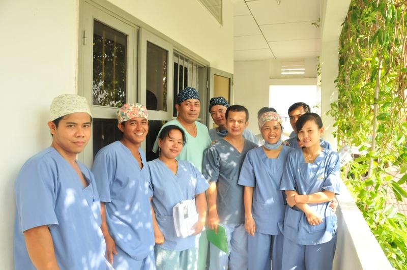 Some of the CSC doctors and nurses