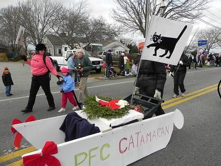 Xmas parade 2010 Cat-A-Ram
