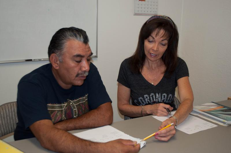 One-to-one adult literacy tutoring, at no charge.