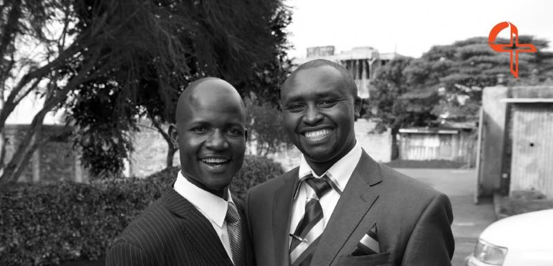 Cornel and Duncan, Kenyan Directors of CARE for AIDS