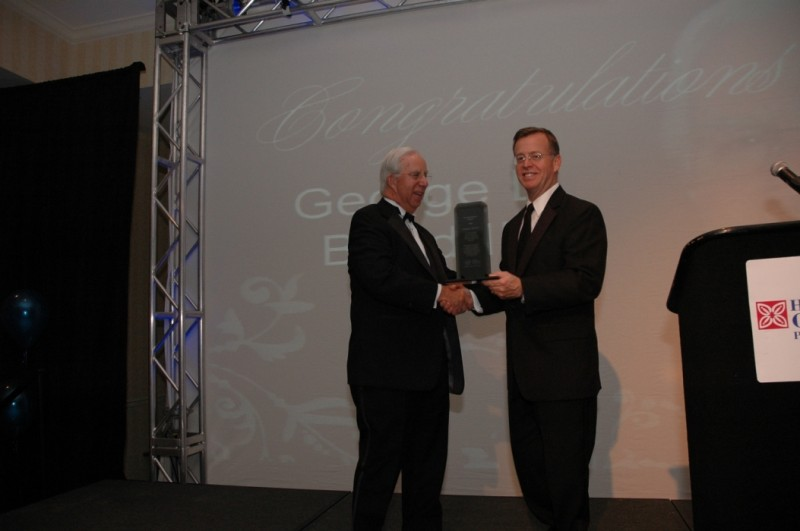 George Bond III Receives the Essential Partner Award