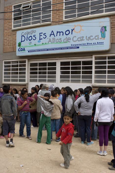 Community School Altos de Cazuca, Soacha 960 students from Pre-K to High School