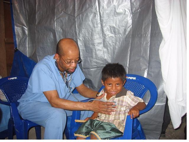 Dr. Karl Watts in Guatemala