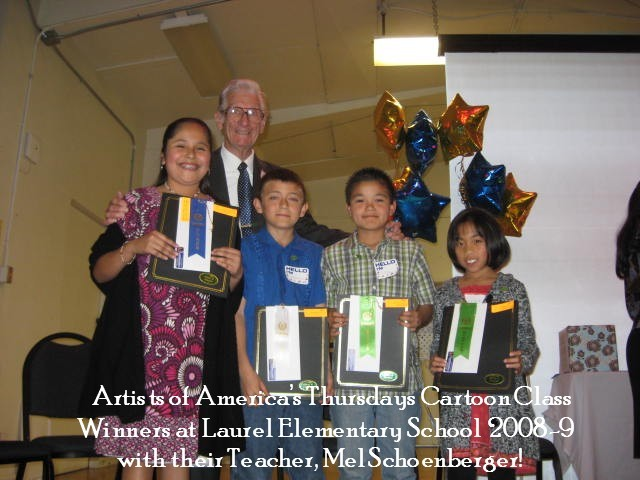 Winners of the Cartoon Contest 2009!