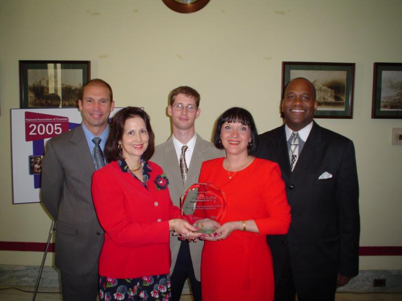 CANDLE, Inc. receives National Acts of Caring Award, Washington, DC