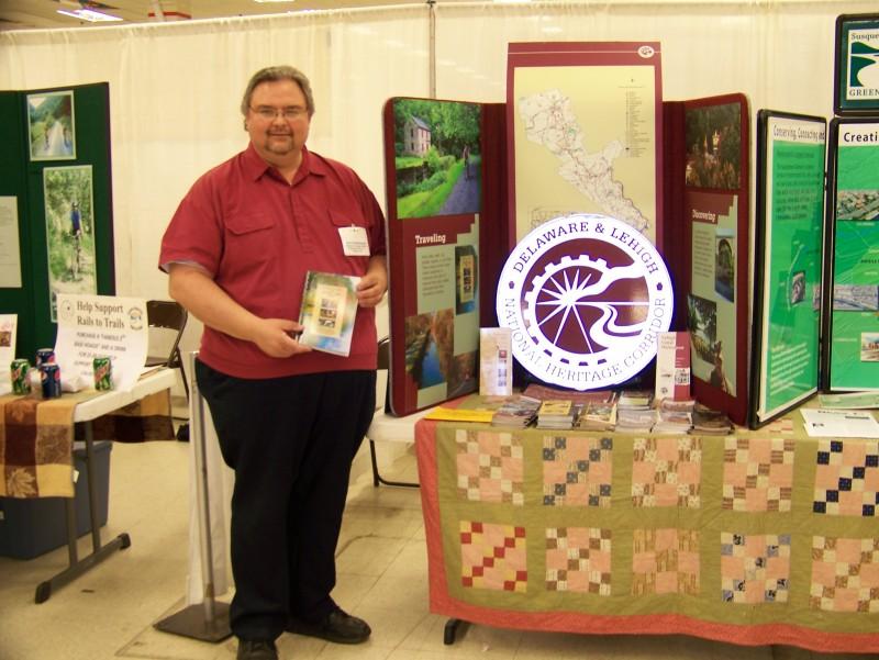 Dale Freudenberger at NE Pennsylvania Expo