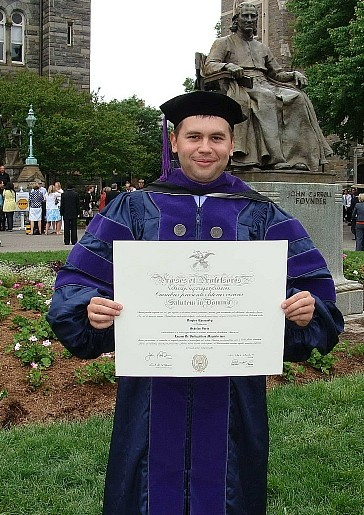 A Ukrainian student's journey from a pro bono US law course in 2007 to a Georgetown LLM in 2009