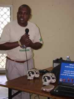 Dr.Fredrick Manthi, Senior Researcher National Museum of Kenya & Heritance partner