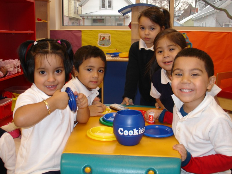 Children in the Early Childhood Education Program