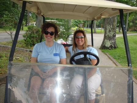 Volunteers at our Annual Golf Tournament