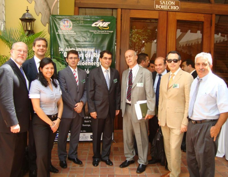 Foundation's Bioenergy Seminar, Dominican Republic Oct. 2009