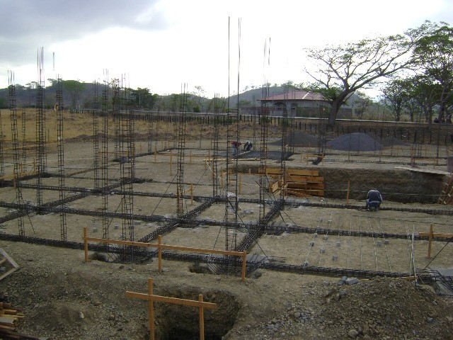 Current construction of land site in Boaco, Nicaragua.