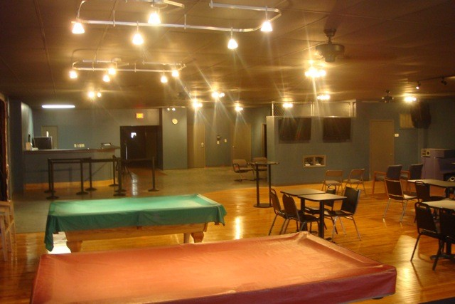 Our facility - the hang out area