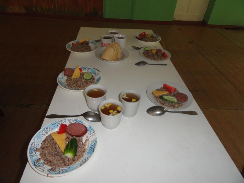 If you join our Bible camp team, you will be served lunch at the Internot (orphanage for older kids)