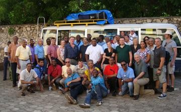 Participants in Jacmel Workshop