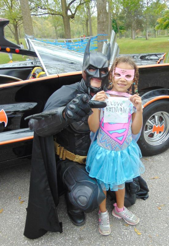 Somebody loves Batman! (2015 Awesome Autumn Outing)