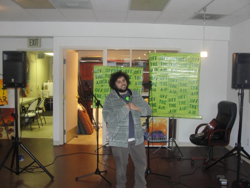 Off the Air Open mic Mr Matt