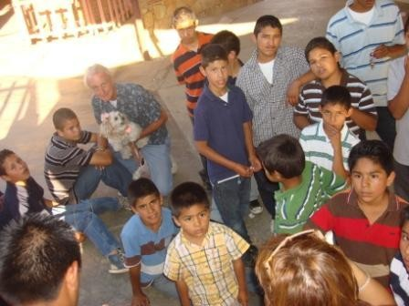 Judd sharing time at an orphanage in Mexico