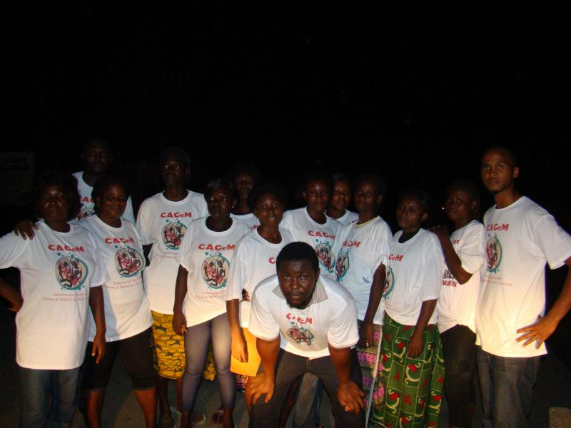 CAGeM volunteers in the village