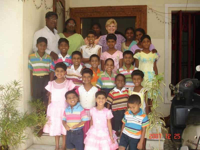 Grace Garden Children's home in India