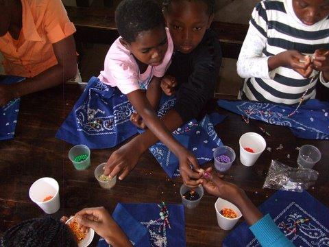 Camp Bambanani: South Africa: Art and Beading