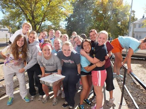 Morningside College Girls Service Day