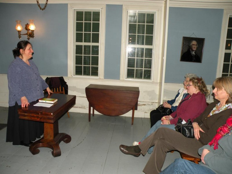 Book reading with local author Jane Brox at the historic Spalding House.