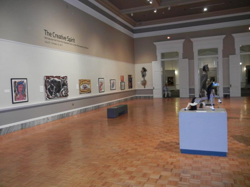 Gadsden Arts Vernacular Art Collection at the Gibbes Museum, Charleston, SC