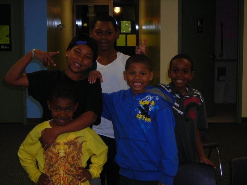 Weekly Boys Club at Garden View Apartments give resident youth a safe and positive place to go.