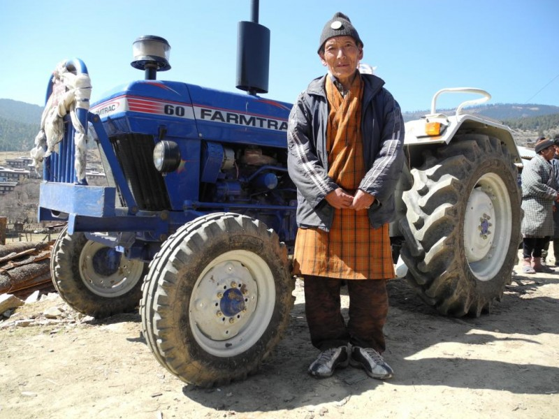 Sustaining Enterprise: tractor rental in Ura village, Bhutan