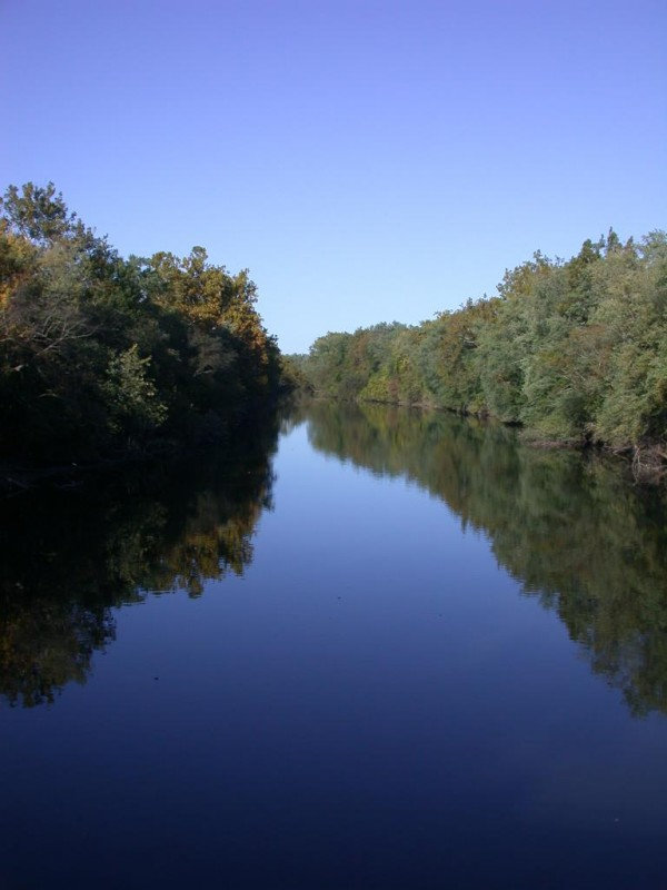 Swatara Creek from Sand Beach Road bridge
