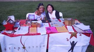 Cynthia & Jen participate at St. Mary's College 150th anniversary
