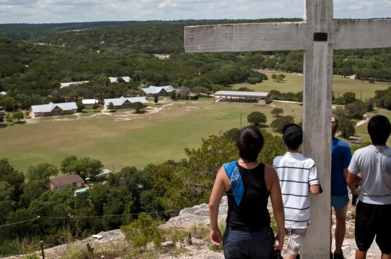 Camp Chrysalis: View from the Bluff
