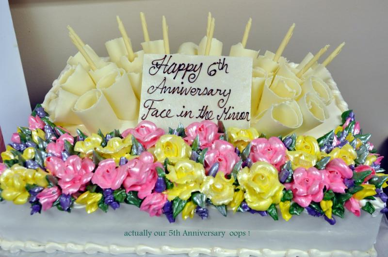 St Joseph Presents Us with a 5 year Anniversary Cake! Tea Parties are going on monthly !