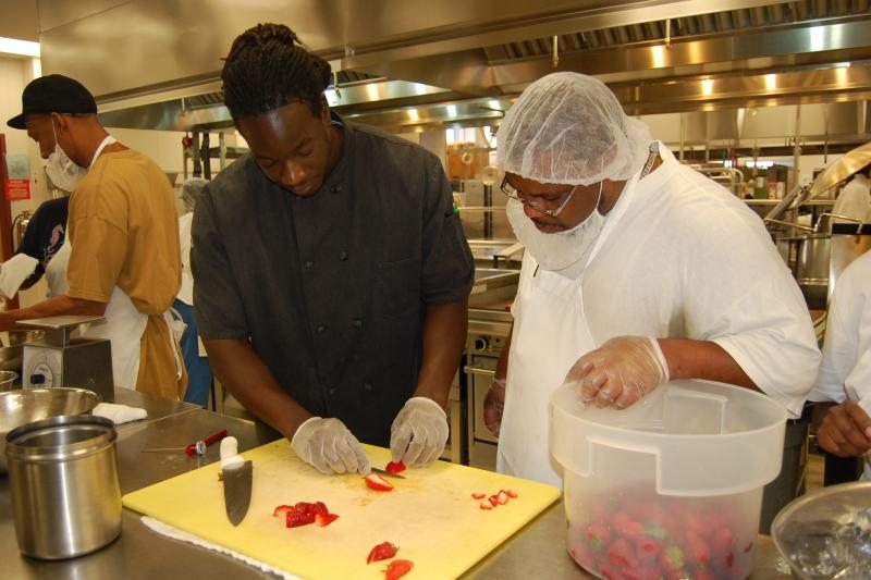 Our Culinary Job Training Program Students are prepared for careers in the food service