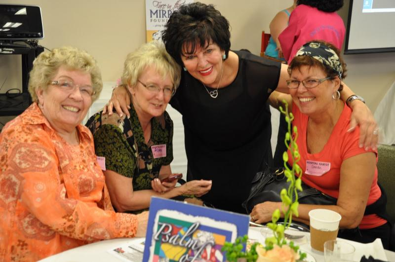 some of the gals and Barbara our Founder