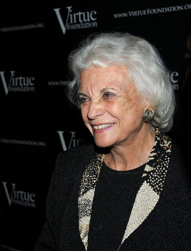Virtue Foundation collaborating partner Justice Sandra Day O'Connor