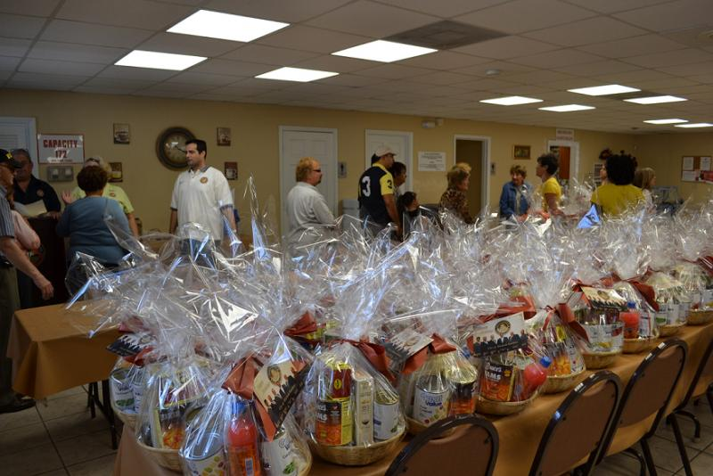 Thanksgiving baskets for low income families