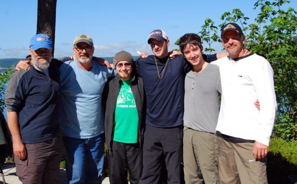 Participants during Part 2 of the men's workshop trilogy.
