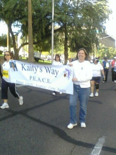 Kaity's Way at Domestic Violence Walk Phoenix Az 2009