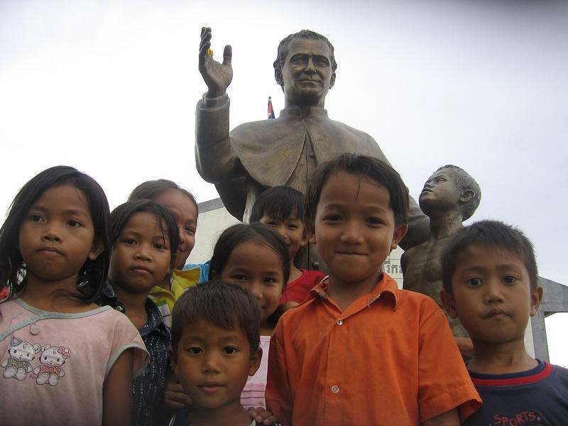 Don Bosco began in the Khmer refugee camps in Thailand in the 1980s.